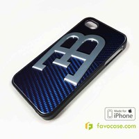 BUGATTI 2 Car Logo iPhone 4/4S 5/5S/SE 5C 6/6S 7 8 Plus X Case Cover