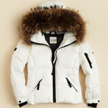SAM. Girls' Blake Down Jacket - Sizes 8-14