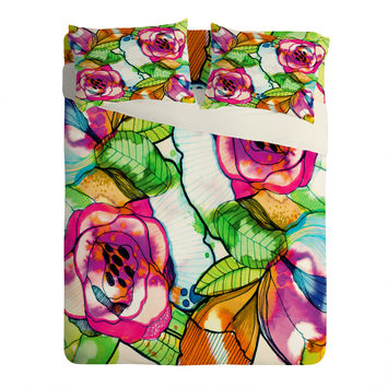 CayenaBlanca Fantasy Garden Sheet Set Lightweight
