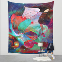 Time Warped Wall Tapestry by DuckyB (Brandi)