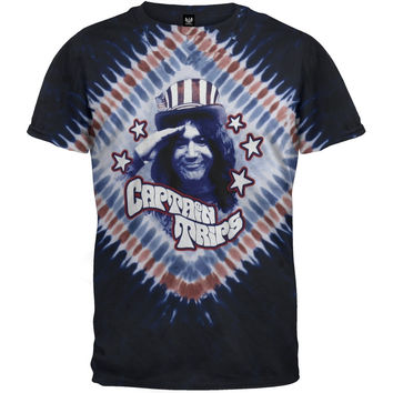 Jerry Garcia - Captain Trips Tie Dye T-Shirt