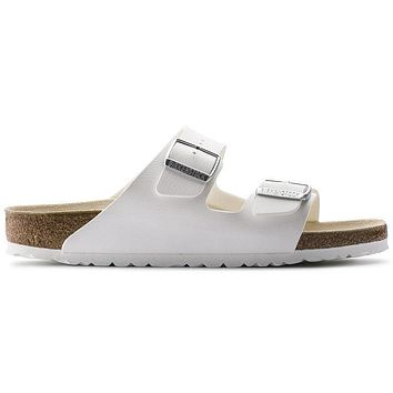 Birkenstock Arizona Birko Flor White 0051731/0051733 Sandals - Ready Stock