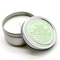 B20 Scented Soy Candle. Bergamot. Massage Moisturizer Candle. Vegan. Shea butter.