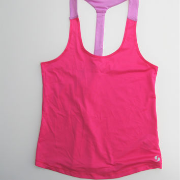 Soffe Racerback Active Yoga Workout Running Tunic Top XS