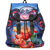 Disney The Little Mermaid Poster Slouch Backpack