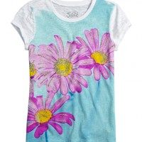 Watercolor Flower Graphic Tee