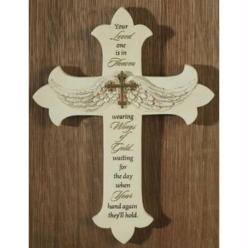 4 Wall Crosses - Bereavement