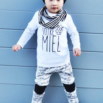 e68ca2b144563 Baby boy leggings/ Baby girl leggings/ Distressed leggings/Toddler leggings/  leather leggings