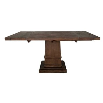 Hudson Square Extension Dining Table Rustic Java