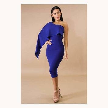 Swing Edgy Body-Con Dress