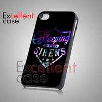Sleeping With Sirens Galaxy Logo - iPhone 4/4s/5 Case - Samsung Galaxy S2/S3/S4 Case - Black or White