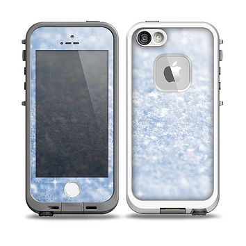 The Sparkly Snow Texture Skin for the iPhone 5-5s fre LifeProof Case