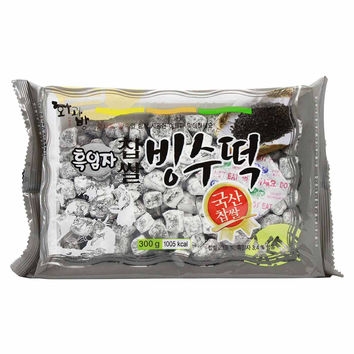 Black Sesame Bingsu Sweet Rice Cake by Hwakwabang 10.58 oz