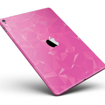 "Pink Geometric V15 Full Body Skin for the iPad Pro (12.9"" or 9.7"" available)"
