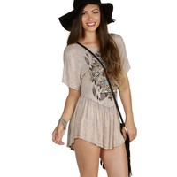 Sale-brown Mineral Spirit Tunic