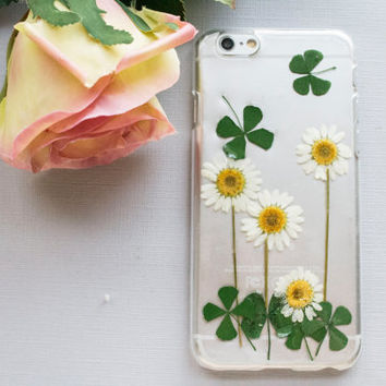 Real Flower Samsung Galaxy S4 Case, Pressed Flower Samsung Galaxy S5 Case, Handmade Natural Flower iPhone 6 Case Dried Flower iPhone 5c Case