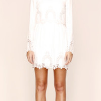 FINAL SALE - The Jetset Diaries - dreaming the same dress in embroidered white