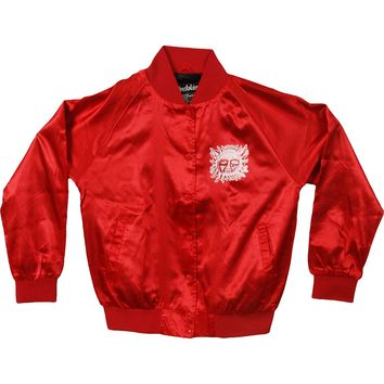 Sublime Women's  Jr Sun Satin Jacket Jacket Red
