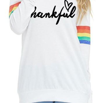 Thankful Long Sleeve Top