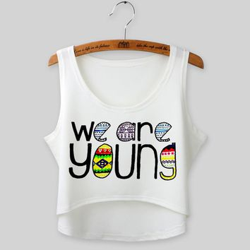 2017 New Arrive 21 types Teenage Girls Summer Cartoon Crop Tops Student 3D type Casual Shirt Summer Tank Vest Cami T-Shirt CJ335