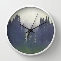 *A Moment Suspended in Time* #society6 Wall Clock by 83oranges.com