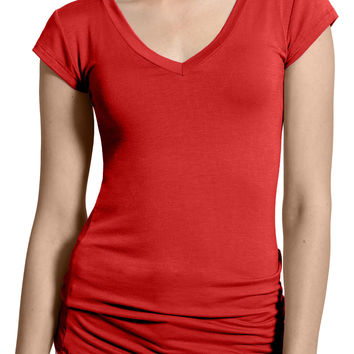Womens Lightweight Fitted Short Sleeve T Shirt with Stretch