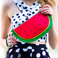 Watermelon Wrislet Crossbody