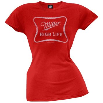 Miller - High Life Juniors T-Shirt