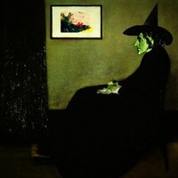 Wizzler's Mother  |  Wizard of Oz's Wicked Witch of the West Art Print by Silvio Ledbetter