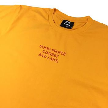 GOLD PEOPLE TEE