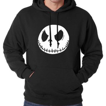 Nightmare Before Christmas Jack Skellington hoodies men 2016 new autumn winter men hoodie fleece loose hip hop men sweatshirts