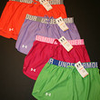 """Under Armour Women's Play Up 3"""" Shorts 1228385 Orange Pink Purple Green New"""