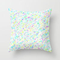 Pastel Pretties Throw Pillow by 2sweet4words Designs | Society6