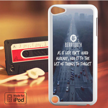 Beartooth on the Street iPod Touch 4 iPod Touch 5 iPod Touch 6 Case