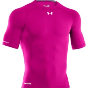 Under Armour Men s Power In Pink HeatGear Sonic Half Sleeve Compression  Shirt - Dick s Sporting Goods d4d21cf24afb
