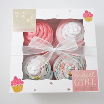 Baby Girl Gift Unique Baby Girl 12 piece Gift - girl baby Gift 6 month