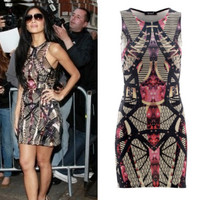 NICOLE SCHERZINGER Celebrity Inspired Replica Dress