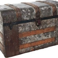 One Kings Lane - Jonathan Rachman - Antique Steamer Trunk