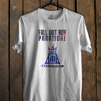 Fall out boy paramore galaxy T Shirt Mens T Shirt and Womens T Shirt **