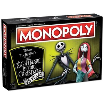 Monopoly® The Nightmare Before Christmas 25th Anniversary Edition Board Game