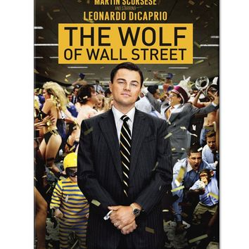 The Wolf of Wall Street Paperback Book