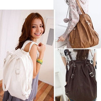 Korean Style Womens Backpack Handbag Shoulder Bag Girls Schoolbag [8081690247]