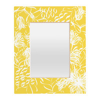 Vy La Bright Breezy Yellow Rectangular Mirror