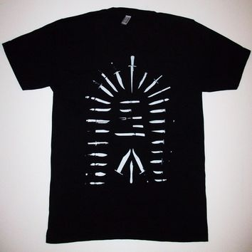Doorway of Knives T Shirt Sizes S M L XL diy ritual punk cult