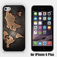 for iPhone 6/6S Plus - Vintage Map - Vintage World - Treasure Map - Old Map - Wanderlust - Travel - Freedom - Adventure - Hipster - Ship from Vietnam - US Registered Brand