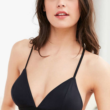 Tex Mix Triangle Caged Bra - Urban Outfitters