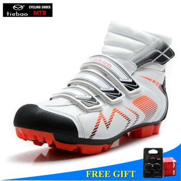 TIEBAO sapatilha ciclismo mtb winter cycling shoes splint chaussures vtt homme scarpe ciclismo bicycle zapatos ciclismo