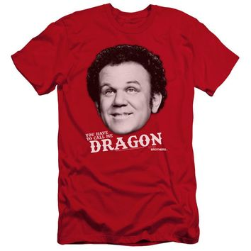 Step Brothers Premium Canvas T-Shirt Dragon Red Tee