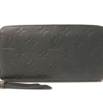 Louis Vuitton Monogram Empreinte M61864 Zippy Wallet Women's Monogram E BF308946