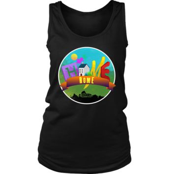 Native Home Country Rome, Italy Women's Tank